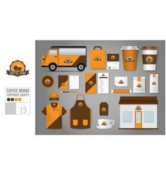 Corporate identity template set 19 logo concept vector