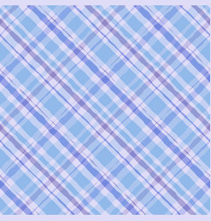 hand seamless plaid tartan pattern watercolor vector image