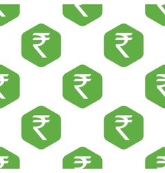 Indian rupee pattern vector