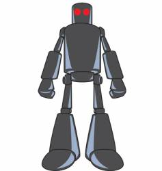 looming robot-color vector image