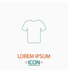T-shirt computer symbol vector