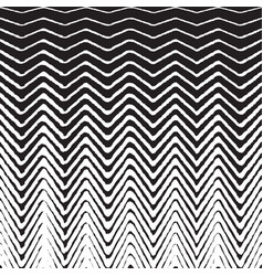 halftone zig zag pattern background zigzag vector image