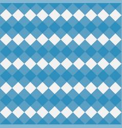 Blue gingham seamless pattern vector