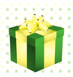 box with ribbon vector image