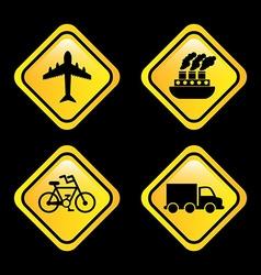 Conveyance icon vector