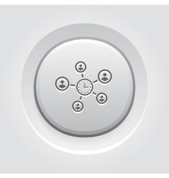 Efficiency Management Icon vector