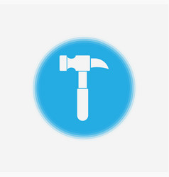 hammer icon sign symbol vector image
