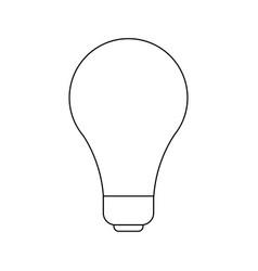 Light bulb idea creativity innovation icon vector