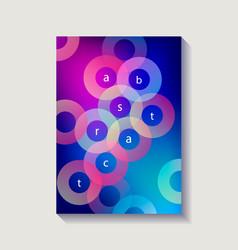 minimalistic design cover poster vector image