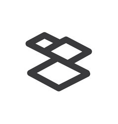 tiles icon vector image