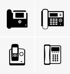 ip phones vector image vector image