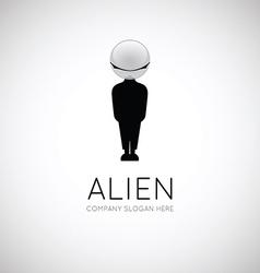 Alien symbol vector image