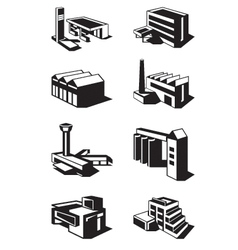 Various types of construction vector image vector image