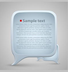 chat window vector image