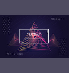 Abstract geometry modern background vector