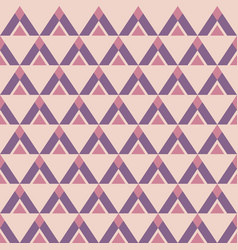 abstract seamless geometric pattern triangles vector image