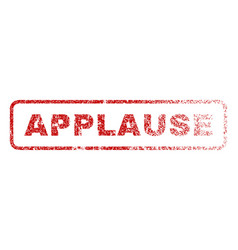 Applause rubber stamp vector