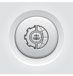 Global Targeting Icon vector