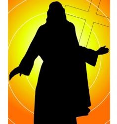 jesus vector image