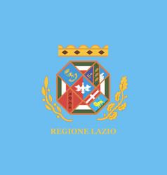 Lazio flag vector