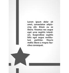 Star symbol dark infographics vector