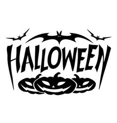 graphic halloween vector image
