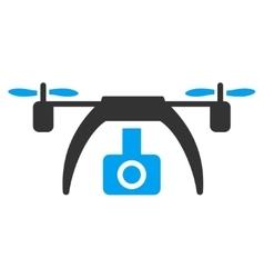 Drone Video Camera Icon vector image vector image