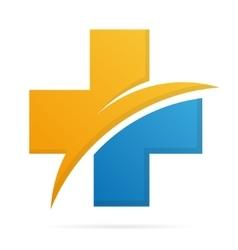 Hospital and medica logo vector