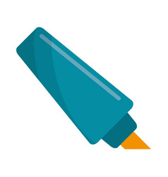 marker write school utensil vector image