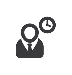 project manager icon vector image