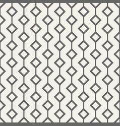 seamless pattern with rhombuses vector image