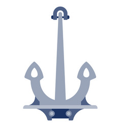 ship anchor icon flat isolated vector image