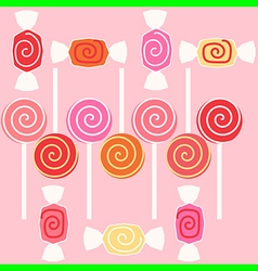 taffy candy vector image