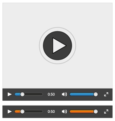 web player vector image
