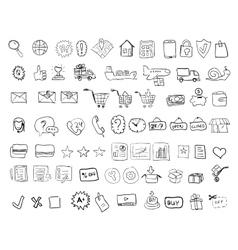 web-shop vector image