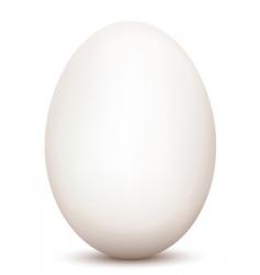 an egg vector image vector image