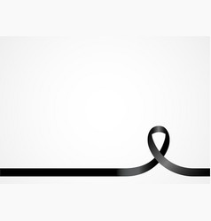 Awareness ribbon background vector