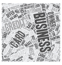 Compare business credit cards and save money text vector