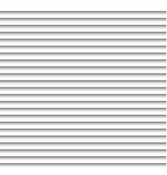 Horizontal white blinds design background window vector