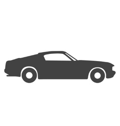 Old vintage classic car icon vector image vector image