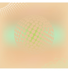 dotted background vector image vector image