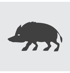 Boar icon vector image vector image