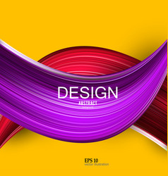 Abstract background colorful curve imag vector