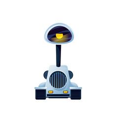 artificial intelligence robotic machine robot man vector image