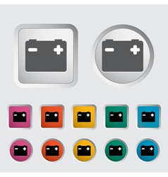Battery icon 3 vector