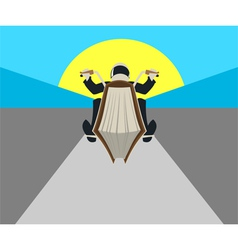 Book bike vector