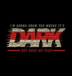 dark typography grunge vector image