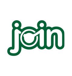 Letter joinest emblem vector