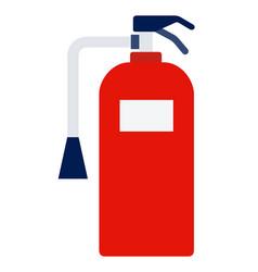 marine extinguisher icon flat isolated vector image