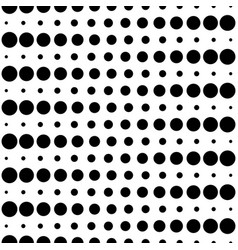 Seamless pattern circles dots and lines vector